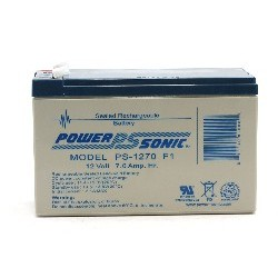 12V 7AH SLA BATTERY F1...
