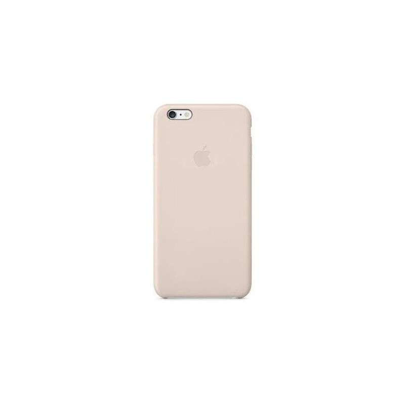 huge selection of 80b14 bf003 Apple iPhone 6+ Leather Case - Soft Pink