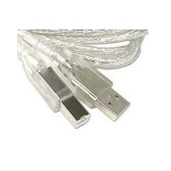 USB 2.0 A to B Cable 6'  - New